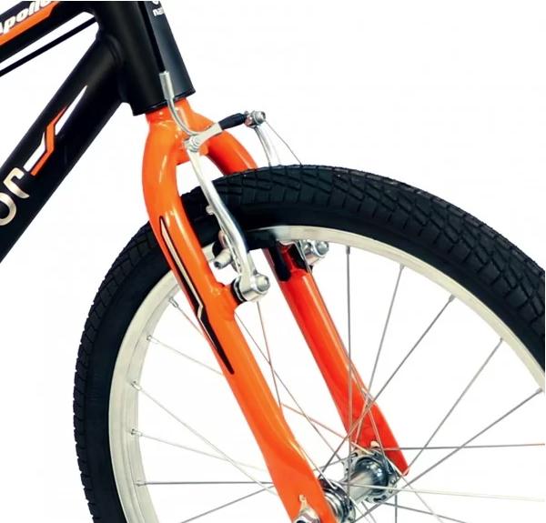 Bicicleta Infantil Aro 20 Apollo Preto/Laranja