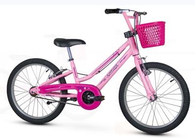 Bicicleta Infantil Aro 20 Bella Rosa Nathor