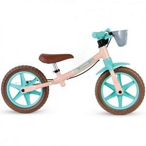 Bicicleta Infantil Nathor Balance Rosa Claro