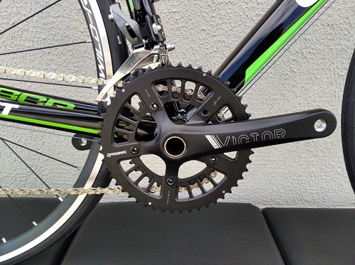 Bike Spees Giant SCR Alumínio Preta e Verde -S