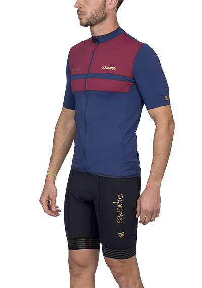 Camisa Ciclismo Squadra Roma Woom Masc 2020 - G