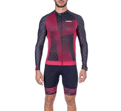 Camisa Ciclismo Woom ML Supreme Zurique Masc  2021