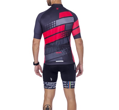 Camisa Ciclismo Woom Smart Hurricane Masc 2021