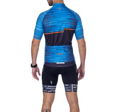 Camisa Ciclismo Woom Smart Ocean Masc  2021
