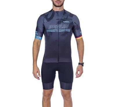 Camisa Ciclismo Woom Supreme Berlin Masc  2021