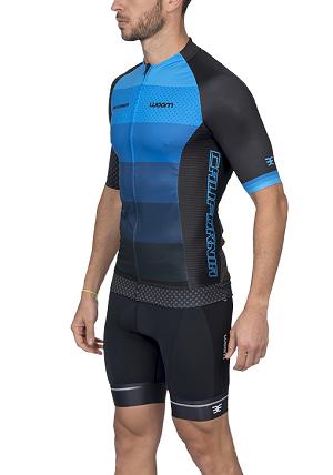 Camisa Ciclismo Woom Supreme California (Azul) Masc 2020