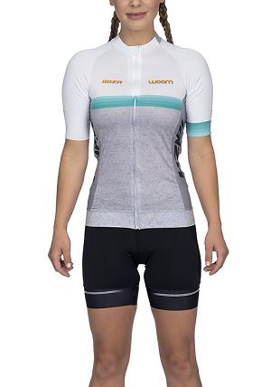 Camisa Ciclismo Woom Supreme Ibiza (Mescla) Fem 2020
