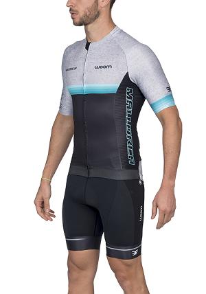Camisa Ciclismo Woom Supreme Mallorca (Mescla) Masc 2020