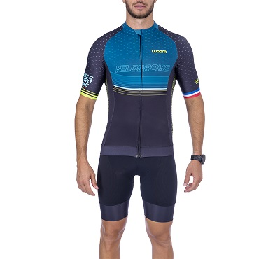 Camisa Ciclismo Woom Supreme Velodrome Masc  2021