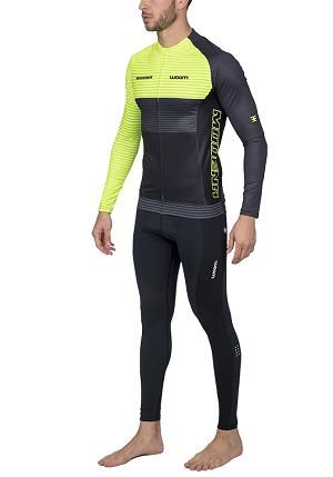 Camisa de Ciclismo Woom ML Supreme Modena (Verde) Masc 2020