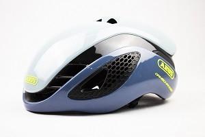Capacete de Ciclismo Abus Gamechanger Cinza/Azul claro - P