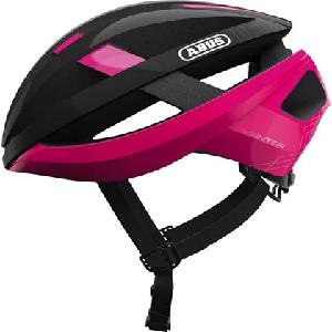 Capacete de Ciclismo Abus Viantor Preto/Rosa M 52 - 58 CM