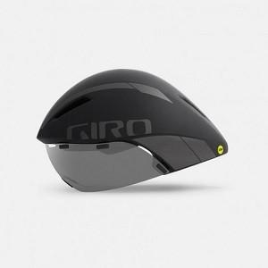 Capacete de Ciclismo Giro Aerohead Mips Preto/Titânio - G