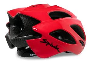 Capacete de Ciclismo Spiuk Rhombus Vermelho M/L