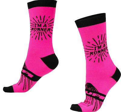 Meia Hupi Pink Runner (34-38)