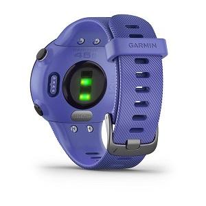 Monitor Cardíaco de Pulso com GPS Garmin 45S Lilás