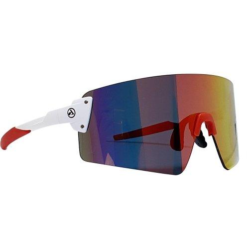 Óculos de ciclismo e corrida  Absolute Prime Branco e Vermelho