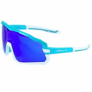 Óculos de Ciclismo e Corrida Absolute Wild Azul/ Baraco - Lente Azul