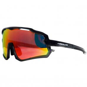 Óculos de Ciclismo e Corrida Absolute Wild Cinza - Lente Vermelha