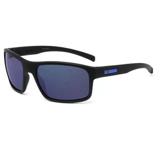 Óculos de Ciclismo e Corrida HB Overkill M Black D Blue Chorome
