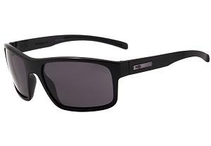 Óculos de Ciclismo e Corrida HB Overkill Matte Black Polarized Gray