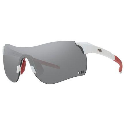 Óculos de Ciclismo e Corrida HB Quad F Pearled White Silver