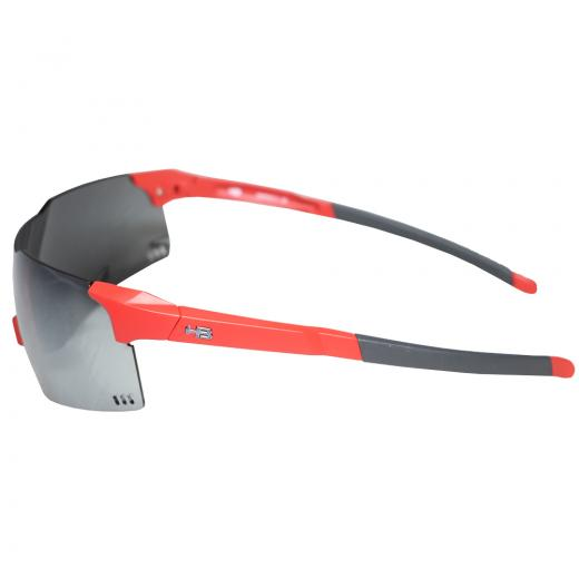 Óculos de Ciclismo e Corrida HB  Quad V - Matte Fire Silver