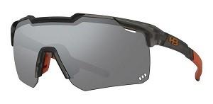 Óculos de Ciclismo e Corrida HB Shield Compact M Matte Onyx Silver