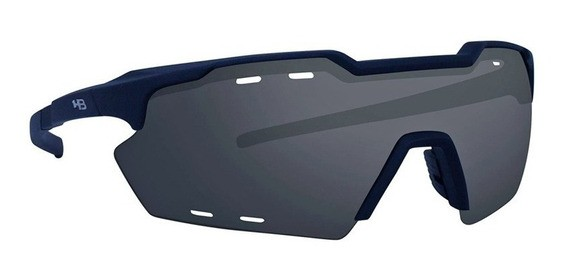 Óculos de Ciclismo e Corrida HB Shield Compact R Matte Black Gray