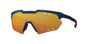 Óculos de Ciclismo e Corrida HB Shield Compact R Matte Navy Multi Red