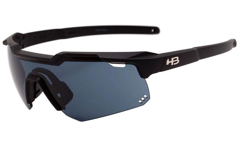 Óculos de Ciclismo e Corrida HB Shield Evo R Matte Black Gray