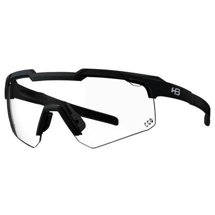 Óculos de Ciclismo e Corrida HB Shield Evo R Matte Black Photochromic