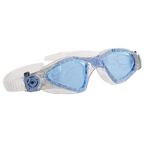 Óculos de Natação Aqua Sphere Kayenne Lady Gliter Azul - Lente Azul