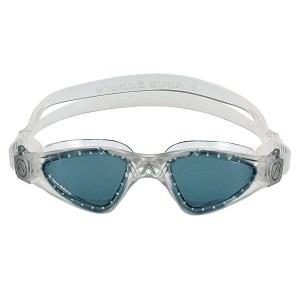 Óculos de Natação Aqua Sphere Kayenne Preto/Prata -Lente Fumê