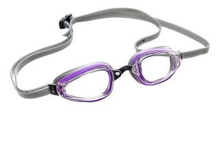 Óculos de Natação Aqua Sphere Michael Phelps K 180+  Lady Lilas/Cinza- Lente Transparente