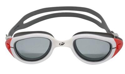 Óculos de Natação Hammerhead Wave Pro Fume/Branco/Cinza/Vermelho