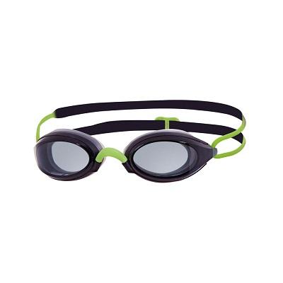 Oculos de Natacao Zoggs Fusion Air Lente Fume - Preto e Verde