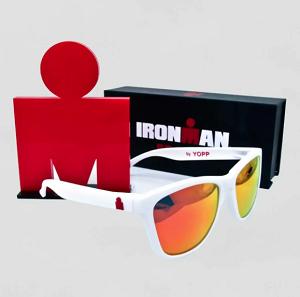 Óculos Yopp Iron Man Lente Vermelha Armação Branca
