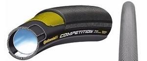 Pneu Continental Competition 700x25 (28x25) Tubular Preto