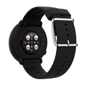 Relógio Fitness Polar Ignite GPS - Preto/ Prata