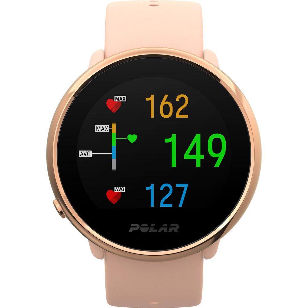Relógio Fitness Polar Ignite GPS - Rose