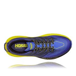 Tênis Hoka Speedgoat 4 Trail Masculino Azul/Preto