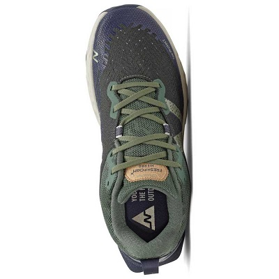 Tênis New Balance Hierro V6 Trail Masculino Verde Musgo