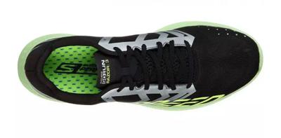 Tênis Skechers Go Run Razor 3 Masculino Preto/Verde