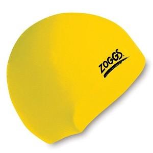 Touca de Natação Zoggs de Silicone Amarela