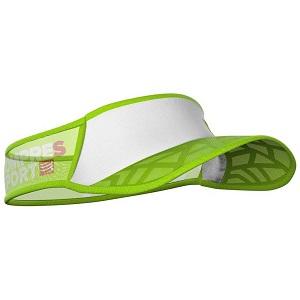 Viseira Ultralight Spiderweb Compressport - Verde/Branca