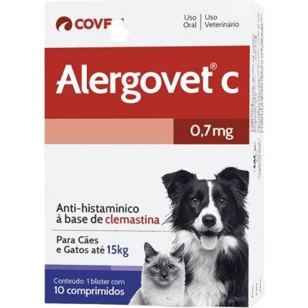 ALERGOVET C 0,7MG