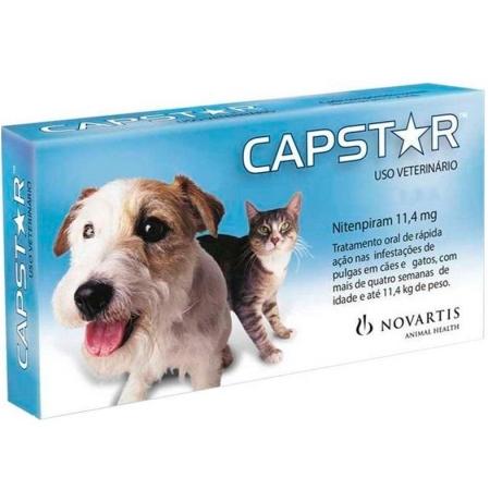 CAPSTAR 11,4MG 1 COMP.