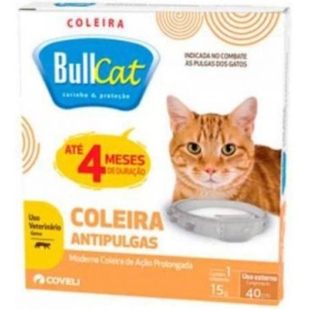 COLEIRA BULLCAT P/ GATO 15 G