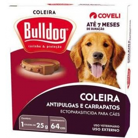COLEIRA BULLDOG  25G /64 CM